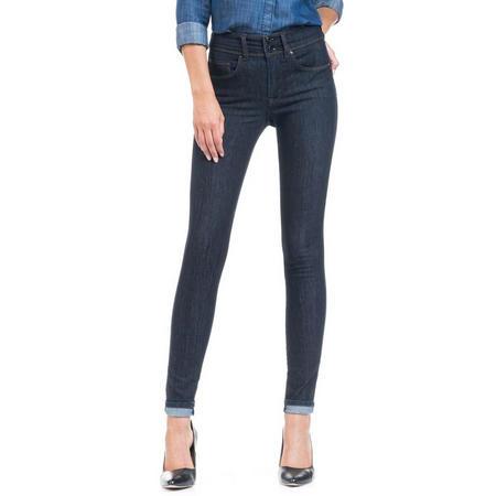 Skinny Push In Secret Jeans Dark Blue