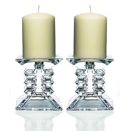 Zorro Pillar Candleholder Pair
