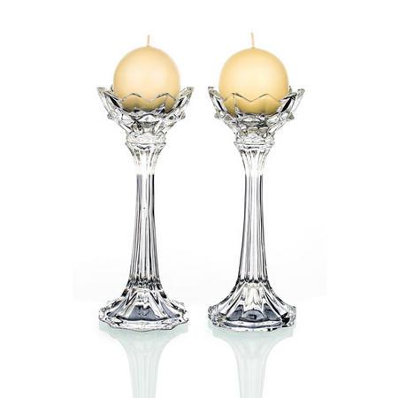 Monaco Ball Candleholder Pair
