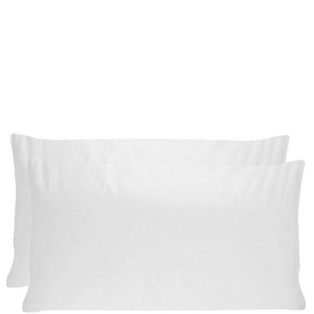 Heritage 400 Thread Count Pillowcase Pair White