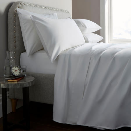 Heritage 400 Thread Count Fitted Sheet White