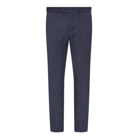 Birdseye Slim Fit Trousers Navy