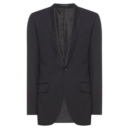 Shawl Evening Jacket Black