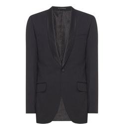 Shawl Evening Jacket Black