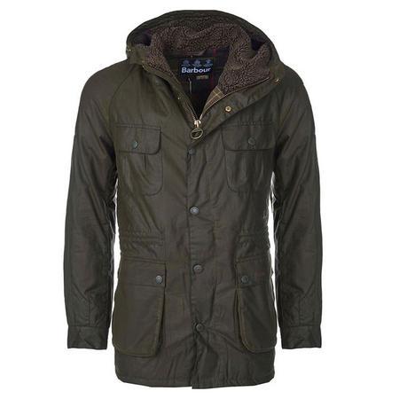 Brindle Wax Jacket Green