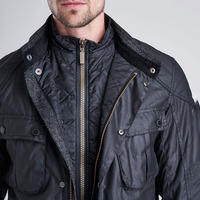 Gauge Waxed Jacket Black