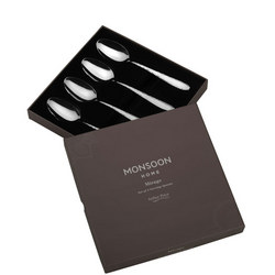 Monsoon Mirage Set of 4 Serving Spoons