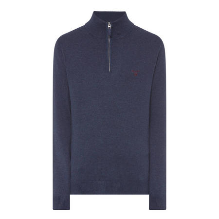 Half-Zip Sweater Blue