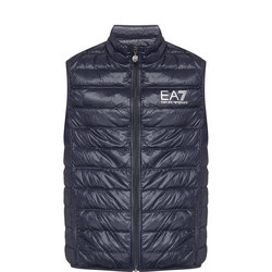 Core Identity Line Quilted Down Gilet Navy
