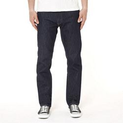 Regular Straight Jeans Dark Blue