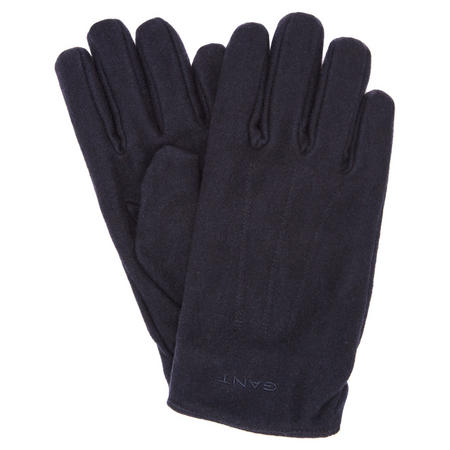 Melton Gloves Navy