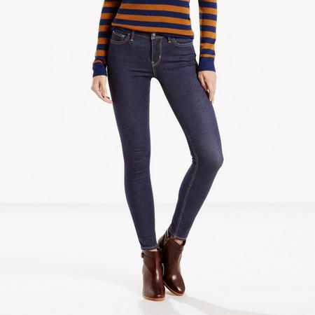 710 FlawlessFX Super Skinny Jeans Dark Blue