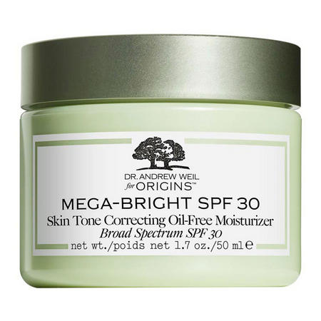 Dr. Andrew Weil for Origins Mega-Bright SPF 30 Oil-Free Moisturizer