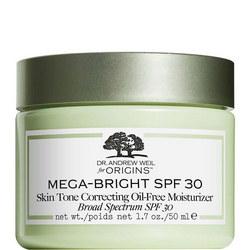 Dr. Andrew Weil for Origins Mega-Bright SPF 30 Oil-Free Moisturizer