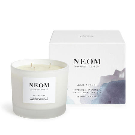 Organics London Real Luxury™ Scented Candle (3 Wicks)