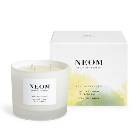 Organics London Feel Refreshed™ Scented Candle (3 Wicks)