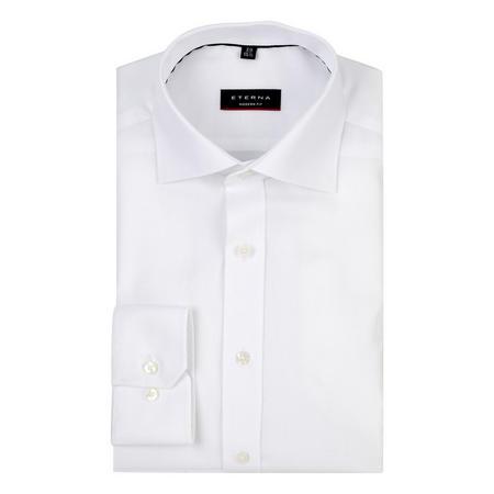 Basic Cotton Formal Shirt White