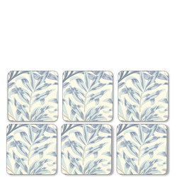 Pimpernel Willow Bough Blue Coasters Set Of 6