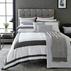 Imperial Coordinated Bedding White/Grey