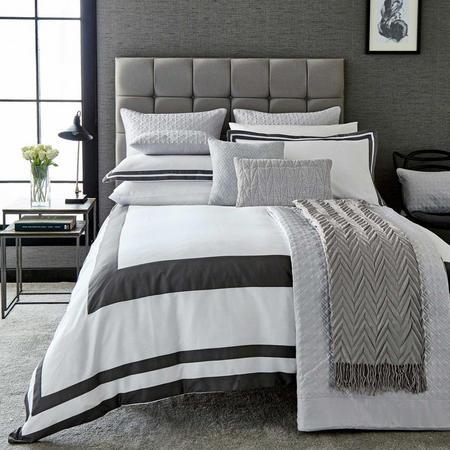 Imperial Duvet Cover White/Grey