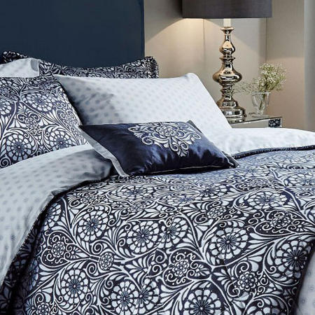 Fiore co-ordinated Cushion Navy