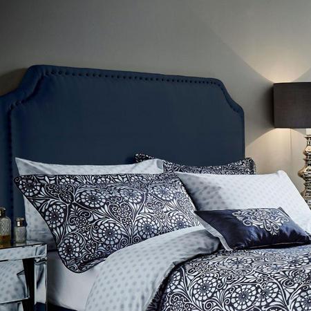Fiore co-ordinated Oxford Pillowcase Navy