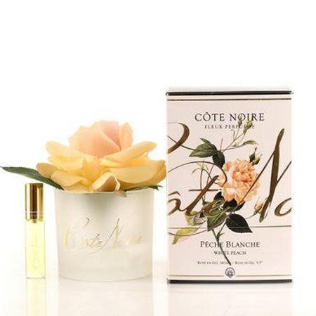 Perfumed Natural Touch Rose in Frost - White Peach Diffuser