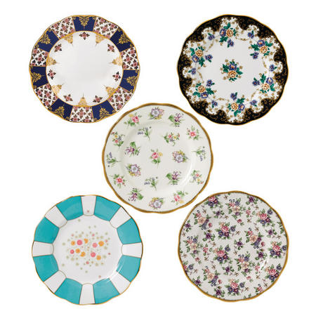 100 Years Plate 5 Piece Set