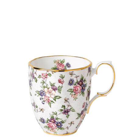 100 Years 1940 English Chintz Mug