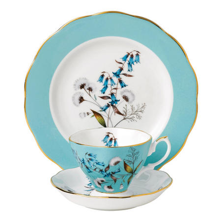 100 Years of Royal Albert Festival 1950 Teacup & Saucer Plate 20cm