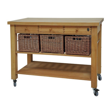 Three Drawer Lambourn Trolley