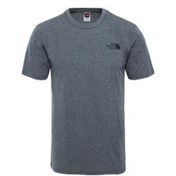 Simple Dome T-Shirt Grey