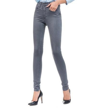 Skinny Push In Secret Jeans Grey