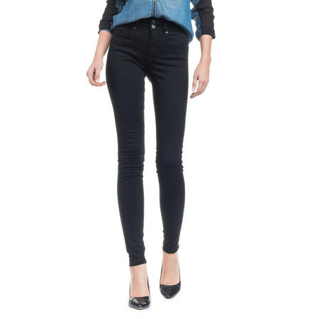 Push In Secret Super Skinny Jeans Black