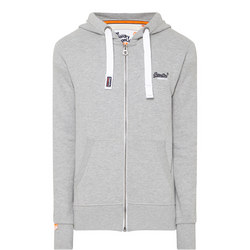 Zip-Through Hoody Grey