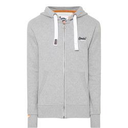 Zip-Through Hoody Grey
