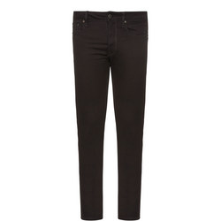 3301 Slim Fit Jeans Black