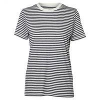 Breton Stripe Cotton T-Shirt Navy