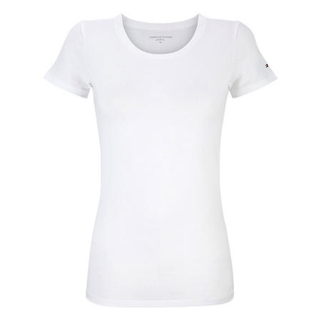 Iconic Logo Pyjama Top White