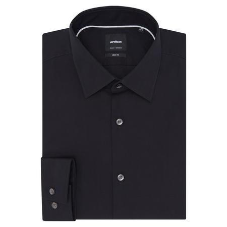 Silas Kent Slim Fit Shirt Black