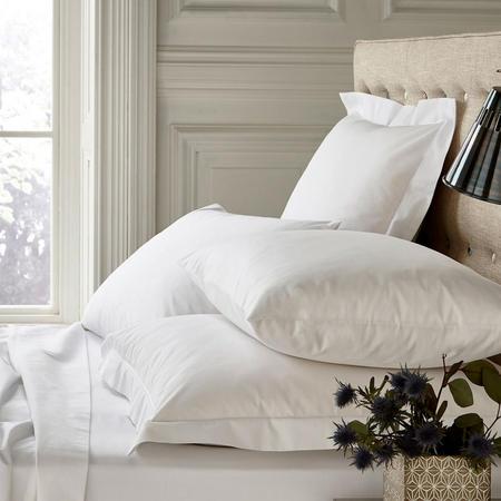 250 Thread Count Standard Pillowcase White