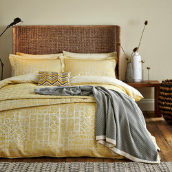 Nala Duvet Cover Gold