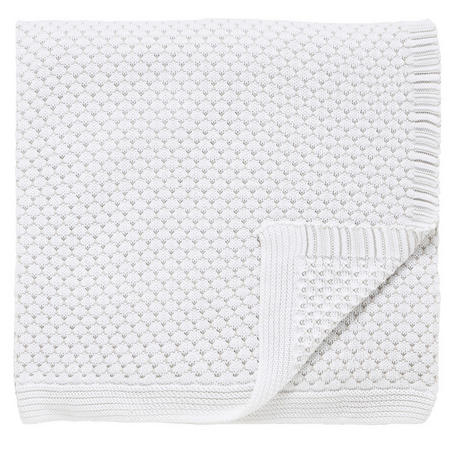 Talcy White Throw