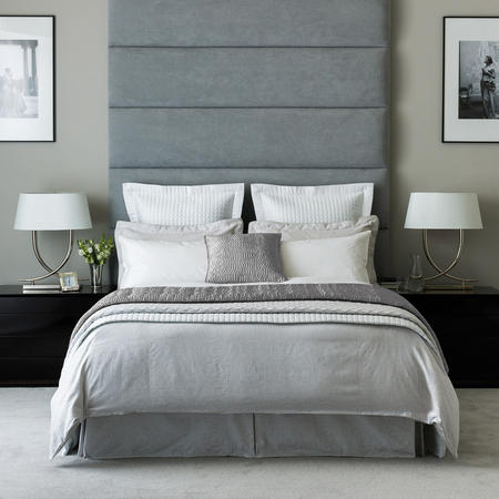 Beaumont Coordinated Bedding Set Silver