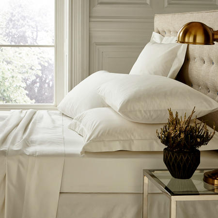 250 Thread Count Flat Sheet Pearl