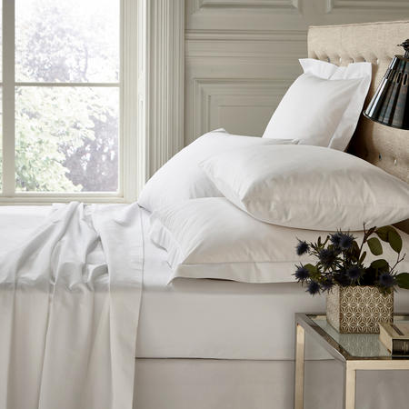 250 Thread Count Flat Sheet Silver
