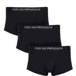 Three Pack Trunks Black
