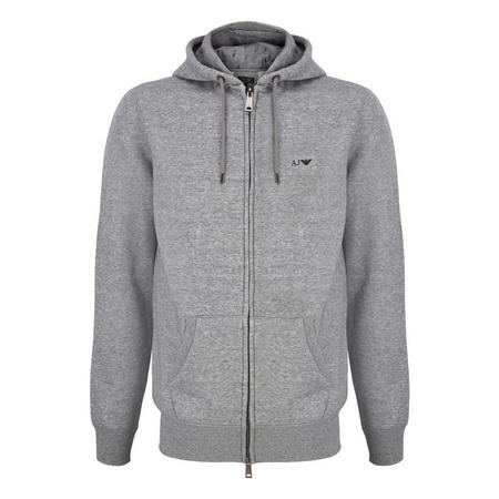 Zipped Hoody Grey