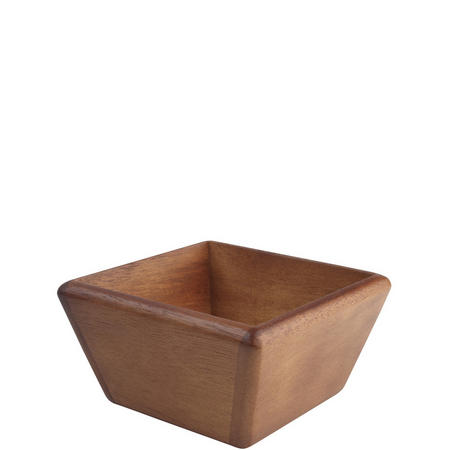 Small Square Bowl Acacia