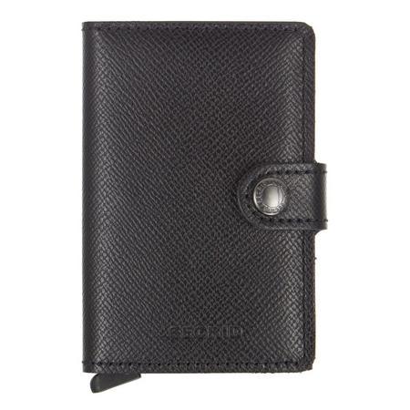 Crisple Card Protector Mini Wallet Black